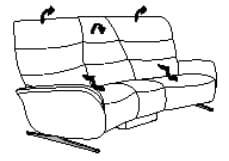 Himolla Cumuly Comfort 4050 Sofa