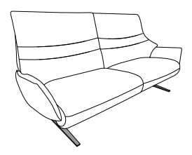 Himolla Lounger 4905 12 .