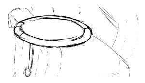 Himolla Cosyform Individual 7619 Zubehör runder Tisch