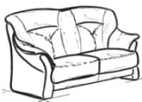 Himolla Tangram Sofa 9558 60 X