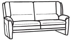 Himolla Tangram Sofa 9852 62 X