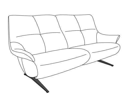 Himolla Easy Comfort 4603 fester Sitz Varianten