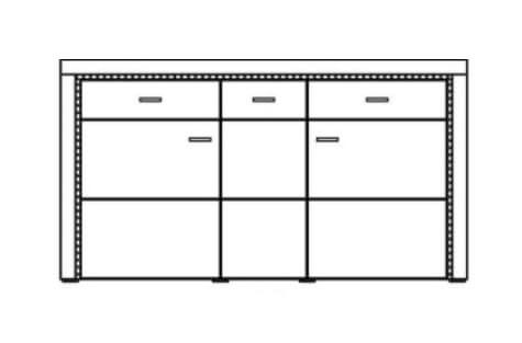 Ideal Bruni Sideboard