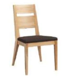 Klose Stühle / Sessel S23 Stühle Schaumstoffpolsterung im Sitz, Holzrücken