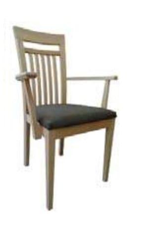 Klose Stühle / Sessel S27 Stühle Mikrotaschenfederkern im Sitz, mit Armlehnen