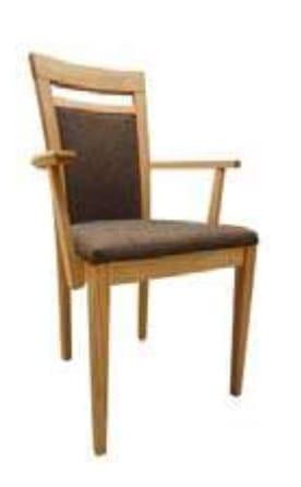 Klose Stühle / Sessel S27 Stühle Schaumstoffpolsterung im Sitz, mit Armlehnen