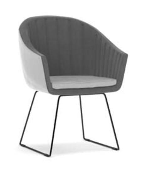 Klose Stühle / Sessel S84 Stühle Metallkufen