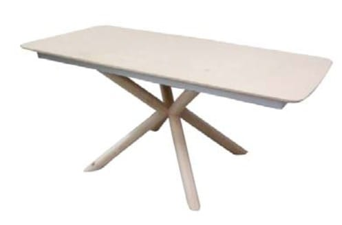 Klose Tische T91 Säulentisch massiv Feste Platte
