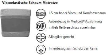 Nehl Schrankbetten Riva Top Luxus-Bett 2446