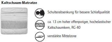 Nehl Schrankbetten Riva Top Schrankbett 1440