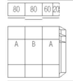 Nolte Germersheim Schwebe- / Dreh- und Falttürenschränke Marcato2.0 Schwebetürenschränke mit 20er-Außenregal