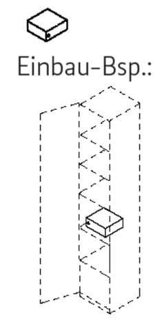 Röhr Büro quantum Highboard