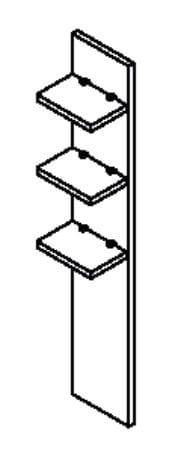 Röhr Büro quantum Paneel-Elemente