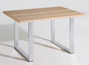 Schösswender Massivline and More - massiv/teilmassiv Einzeltische Kufentisch