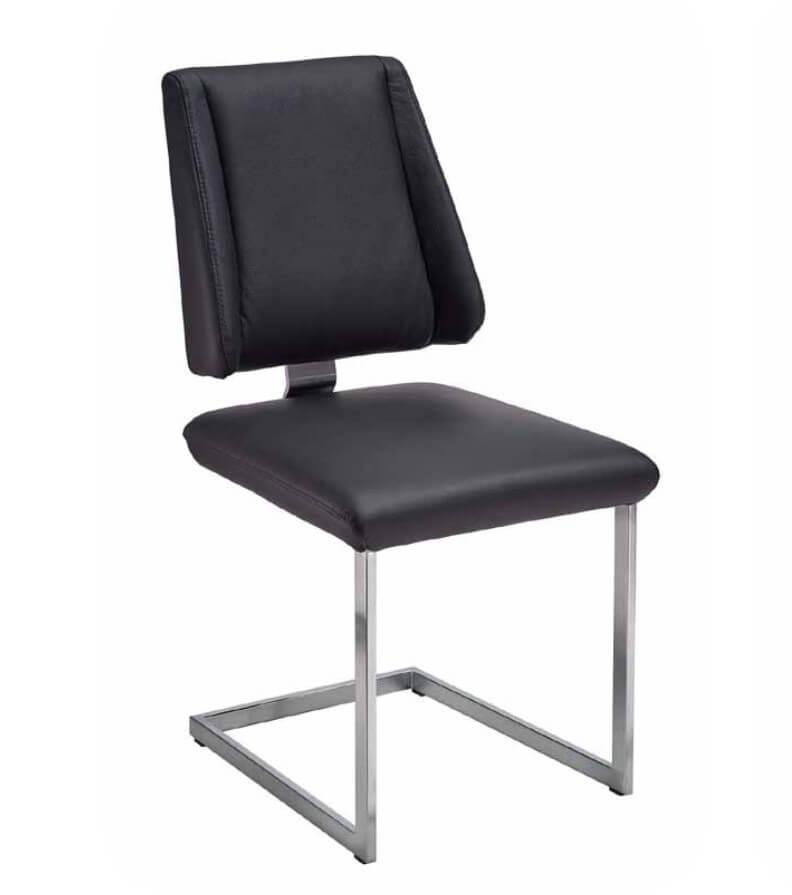 Silaxx Stühle 6253 Freischwinger 1C - mit glattem Rücken