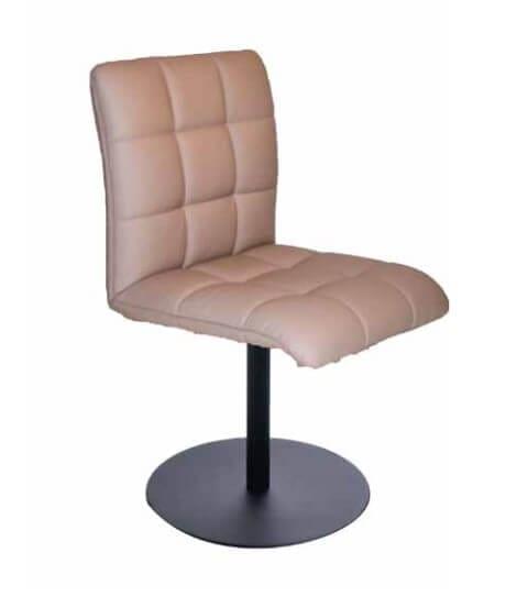 Silaxx Stühle 6152 Stuhl Drehstuhl mit Metallteller