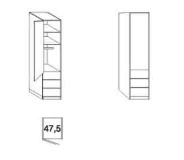 Wiemann Schlafzimmer Loft Gleittüren-Panorama-Funktionsschränke