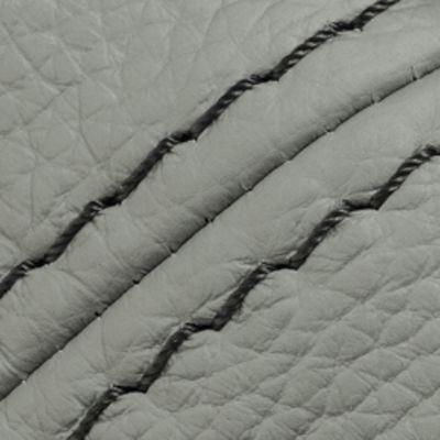 Willi Schillig Sofas 16540 - valentinoo Ecke / Trapezteil EL 112 83 112 L - Leder uni LK40 - Z5124 - silver grey mit Kontrastfaden 0416