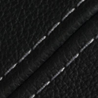 Willi Schillig Sofas 16540 - valentinoo Ecke / Trapezteil EL 112 83 112 L - Leder uni LK40 - Z5199 - schwarz mit Kontrastfaden 0415