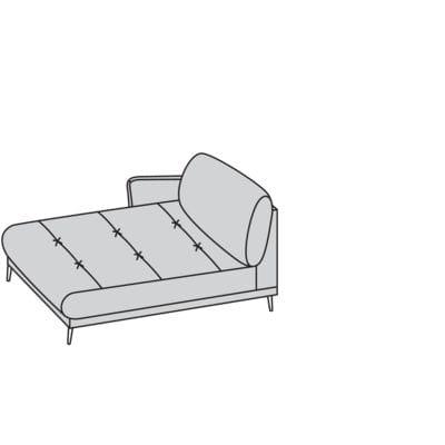 Willi Schillig Sofas 12301 - softy Longchair