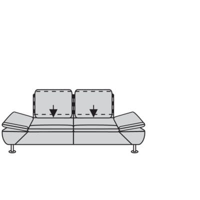 Willi Schillig Sofas 15278 - taoo Sofa / Canapé