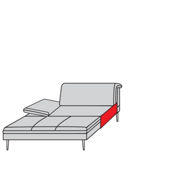 Willi Schillig Sofas 15450 - enjoy&MORE Longchair
