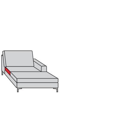 Willi Schillig Sofas 22850 - aleXx Longchair K70R