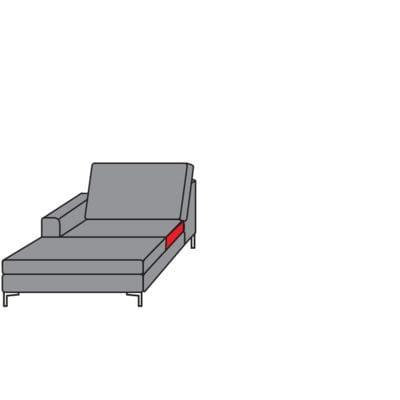 Willi Schillig Sofas 22850 - aleXx Longchair