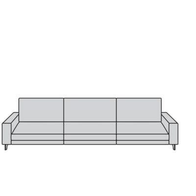 Willi Schillig Sofas 24700 - miroo Sofa / Canapé