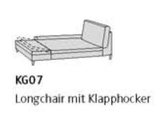 Willi Schillig Sofas 29858 - loop KG 07 li