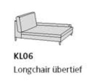 Willi Schillig Sofas 29858 - loop KL 06 re