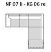 Willi Schillig Sofas 29858 - loop NF 07li - KG 06re
