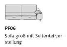 Willi Schillig Sofas 29858 - loop PF 06 re