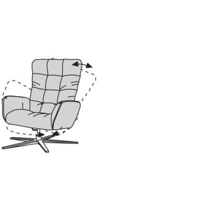 Willi Schillig armchair 31721 - deXxter TV-Sessel / Ruhe- / Liege- / Relaxsessel