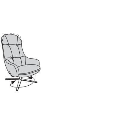 Willi Schillig armchair 31741 - embrace Sessel / Hochlehnsessel