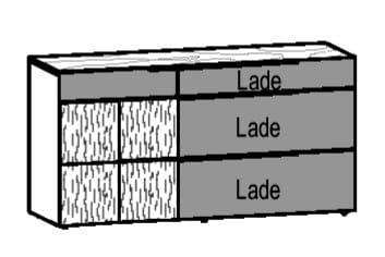 Voglauer Wohnen V-Alpin Sideboard