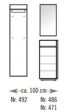 Voss V100 Set-Zusammenstellungen