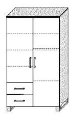 Wellemöbel Babyzimmer Benno Kleiderschränke