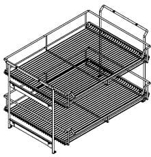 Wellemöbel Schlafzimmer Chiraz Auszugskorb