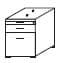 Wellemöbel Büro Hyper 4-Fuß-Schreibtischsystem