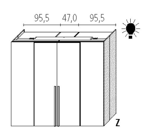 Wellemöbel Schlafzimmer Ineo Comfort Plus Slider - 140 cm Tiefe