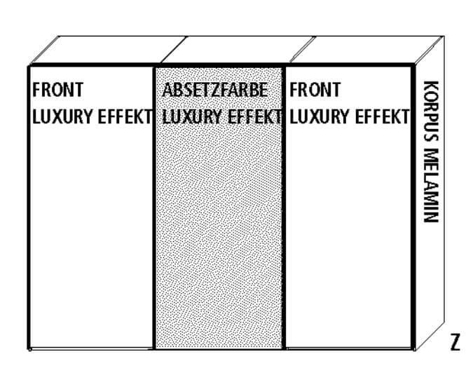 Wellemöbel Schlafzimmer Luxury Schwebetürenschränke