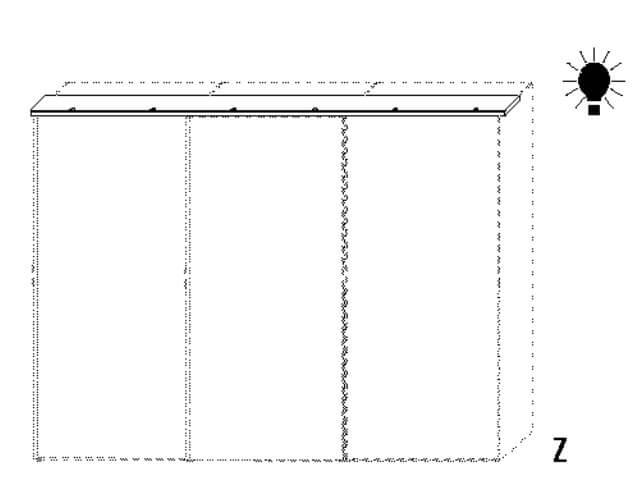 Wellemöbel Schlafzimmer Luxury Zubehör für Schwebetürenschränke