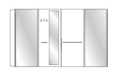 Wiemann Schlafzimmer Treviso Schwebetürenschränke