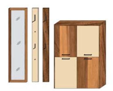 Wittenbreder Multi-Color Wood Kombination