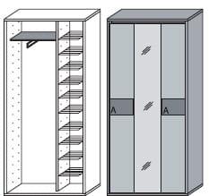 Wittenbreder Merano Kompakt Garderobe