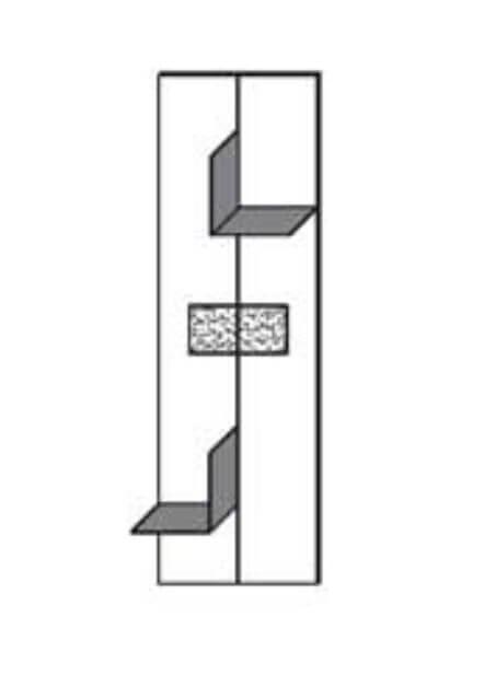 Wöstmann Wohnzimmer C200 Hängeregal