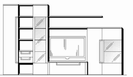 Wöstmann Wohnzimmer Cantana 3000 Kombinationen