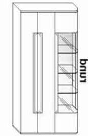 Wöstmann Wohnzimmer Cantana 3000 Einzelmöbel