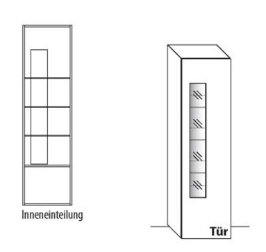Wöstmann Wohnzimmer NW440 Zeilenschränke